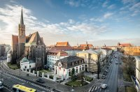 widok na Wrocław